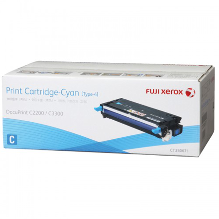 Toner Cartridge Standard Capacity Fuji Xerox C (4K) - CT350671