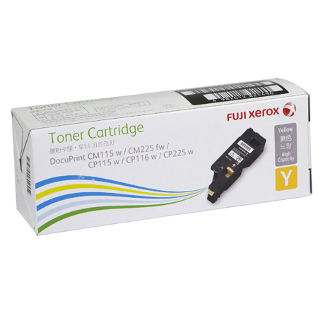 Toner Cartridge Fuji Xerox Y (1.4K) - CT202267
