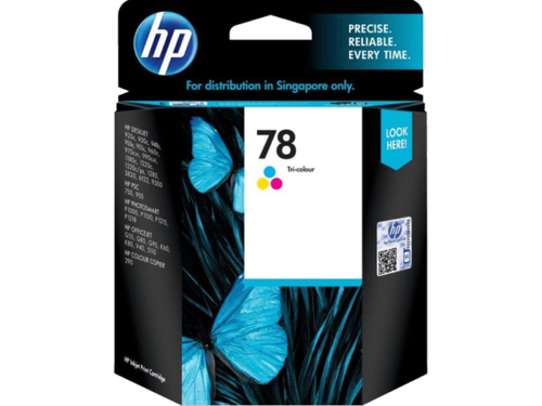 HP 78 Tri-color Original Ink Cartridge