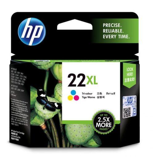 HP 22XL High Yield Tri-color Original Ink Cartridge