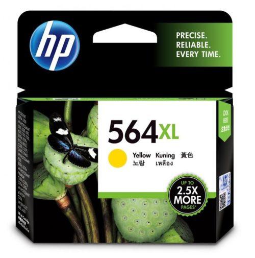 HP 564XL High Yield Yellow Original Ink Cartridge