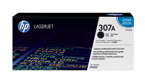 HP 307A Black Original LaserJet Toner Cartridge