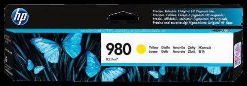 hp 980 ink cartridge yellow