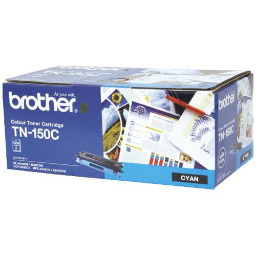 Brother TN 150C Toner Cartridge Cyan
