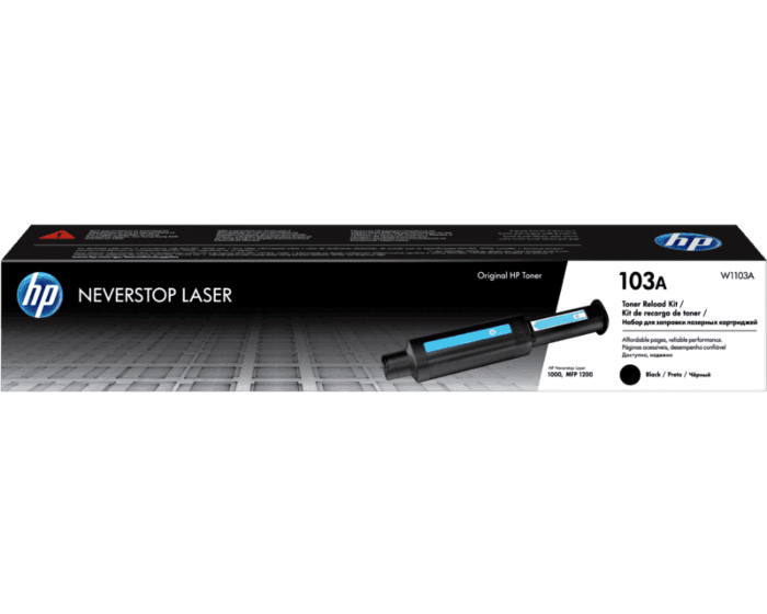 hp 103a black original neverstop laser toner reload kit duta sarana computer hp 103a black original neverstop laser toner reload kit