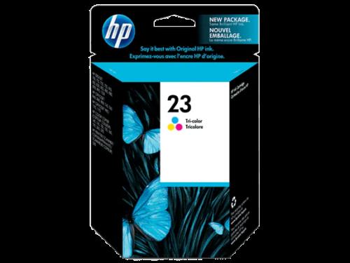HP 23D Tri color Original Ink Cartridge