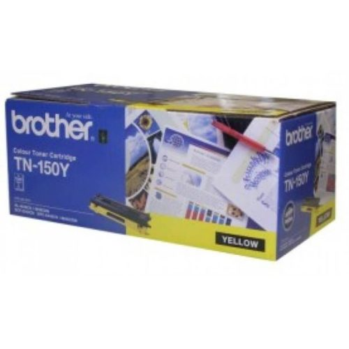 Brother TN 150Y Toner Cartridge Yellow